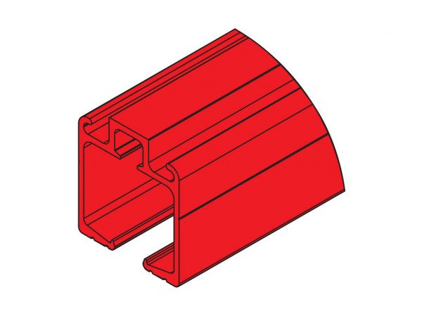 3m - Single Upper Guide Rail Stanlux
