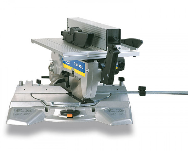 230V TM43L Tiltable Mitre Saw with Upper Table