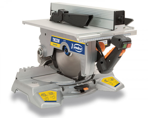 230V TM33W Tiltable Mitre Saw with Upper Table